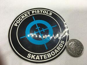 Pocket Pistols Skateboards Telescopic Sight Skateboarding Sticker