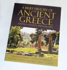 A Brief History Of Ancient Greece~Pomeroy~Burstein~Donlan~Roberts~1st Edition