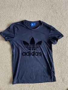 Adidas Womens Navy T Shirt - Size 6
