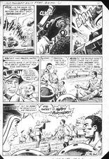 G.I. Combat #257 p.9 Haunted Tank Battle! End Page - 1983 art by Sam Glanzman Comic Art