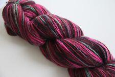 Flotte Socke 4 fach -  60%Wolle/20% Alpaka/20%Polyamid handgefärbt FB1312 100g