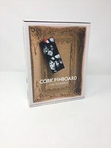 Desktop Pinboard Hanging Freestanding Organiser Cork NEW