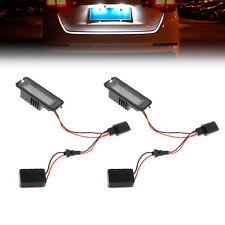 2pcs LEDNumber License Plate Light For VW GOLF MK4 MK5 MK6 PASSAT EOS ERROR FREE