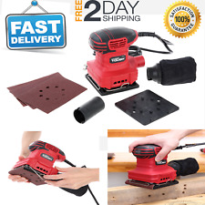 Hyper Tough 2-Amp Handheld Corded Electric Automatic Palm Sander, 1/4 Sheet