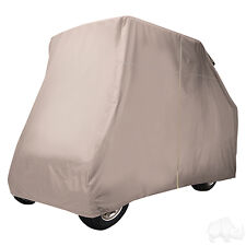 Golf Cart Storage Cover for EZGO/Club Car/Yamaha with Rear Seats
