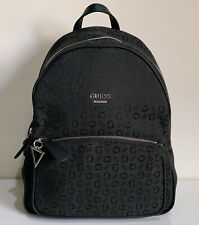 NEW! GUESS ROCK BEAT COLLECTION COAL BLACK TRAVEL BACKPACK BAG PURSE SALE