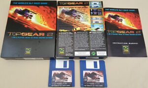 Top Gear 2 World's No1 Race Game - 1994 Gremlin for Commodore Amiga BOXED!