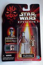 Star Wars Phantom Menace Episode 1 Ody Mandrell & Pit Droid Hasbro 1999 MOSC