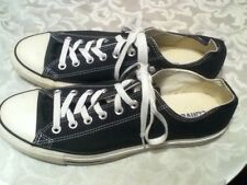Mens Size 11   Womens Size 13 Converse shoes black athletic sports basketball