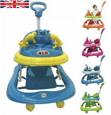 Baby Girl/Boy Walker Push Bouncer Activity Musical Melody Toy Along Ride Handle