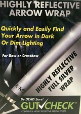 GutCheck HIGHLY REFLECTIVE FULL SILVER ARROW WRAP - #GCR3004