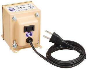Voltage Converter Down N Transformer 120V to 100V 550W for Japan products Coiled