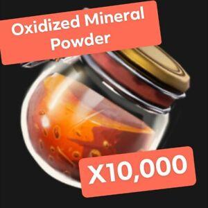 Fortnite Save The World Oxidized Mineral Powder X10,000