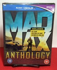 Mad Max Anthology Boxset (Blu-ray) All 4 Films+Fury Road Art cards-Free Shipping