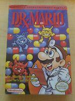 NES Sealed Dr Mario H Seam Nintendo Original Shrink Wrap New Hangtab