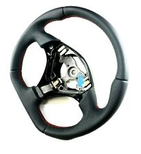 TOYOTA  SUPRA MR2 CELICA LEVIN RESHAPED STEERING WHEEL FULL PERFORATED LEATHER