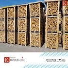 Kaminholz 1RM = ca. 1,2 Ster Hartholzmix 25cm Palette Brennholz trocken Briketts