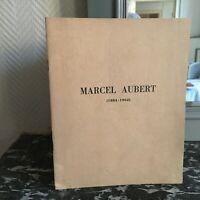 Marcel Aubert 1884-1962 Pastillas Conmemorativa 1963