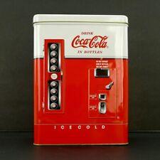 "Coca Cola 1950s Vending Machine Tin 8"" Tall 1997"