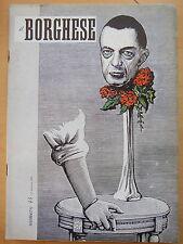 1954-IL BORGHESE-Direttore LEO LONGANESI-Anno V, Numero 43