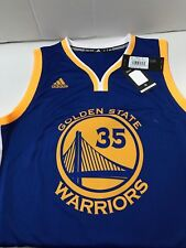f348fd63a Golden State Warriors adidas Swingman Kevin Durant Jersey Sz Large 2