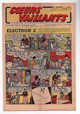 COEURS VAILLANTS 1944. n°10. Le Secret de la Licorne. Tintin.
