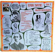 "12"" Vinyl - ERIC SATIE Vol.5 - Aldo Ciccolini (Piano)"