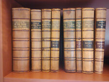 8 antique Justice of the Peace volumes  1905-1922 NICE