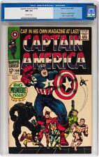 Captain America #100 CGC 9.4 1968 1st Issue! Avengers! Iron Man C12 564 cm clean