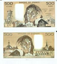Gertbrolen 500 FRANCS PASCAL du 1-2-1990    R. 312 Billet Numéro  779147408