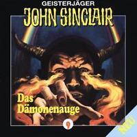 "Preisalarm! * HÖRSPIEL CD * JOHN SINCLAIR ""Das Dämonenauge"" 9 * (T2) NEU & OVP"