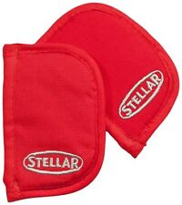 STELLAR Oven Glove-Set 2 Thermal Lined Side Handle Mitt. Perfect for Stock Pots