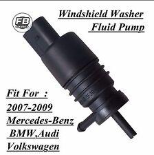 Windshield Washer Fluid Pump for 2007-2009 Mercedes-Benz BMW Audi Volkswagen