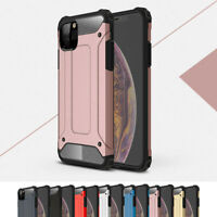 For iPhone 11 Pro Max MAX XS XR 8 7 6 5s SE Armor Shockproof Bumper Case Cover