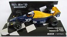 F1 1/43 TYRRELL 018 FORD ALESI GP FRANCE 1989 MINICHAMPS