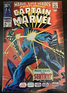 MARVEL SUPER-HEROES 13 (March 1968) Thomas Colan 1st Carol Danvers KEY