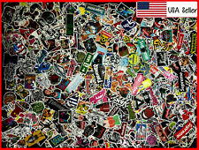 (100) Skateboard Stickers bomb Laptop Luggage Decals Dope vintage Sticker Lot