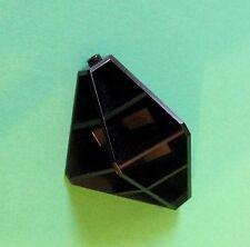 Lego Space, Tron Wand 4x4x6 schwarz, Ecke Convex für Set 6989, 6956 - No: 4737