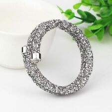 Unbranded Crystal Mixed Metals Costume Bracelets