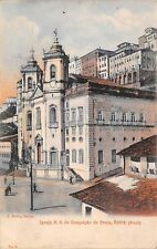 BAHIA, BRAZIL ~ BASILICA OF IMMACULATE CONCEPTION ~ c. 1902