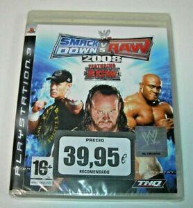 WWE SmackDown vs. Raw 2008 PS3 (PAL España precintado)