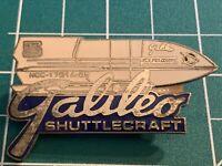 Star Trek: The Next Generation Galileo Shuttlecraft Enamel Pin -new