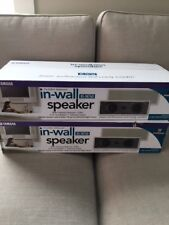 2 Yamaha in-wall speakers - NS-IW760 - BRAND NEW, NEVER OPENED