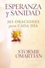 NEW - Esperanza y sanidad: 365 oraciones para cada dia (Spanish Edition)