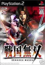 Used PS2  Sengoku Musou SONY PLAYSTATION JAPAN IMPORT