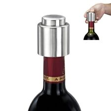 Sealer Caps Vacuum Stainless Steel Bottle Stopper for Wine Champagne