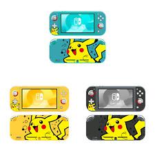 Ci-Yu-Online Pokemon Pikachu Vinyl Skin Screen Protector Nintendo Switch Lite