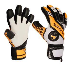 Supersave SS Premier N1 Orange Special Negative Cut Football Goalkeeper Gloves