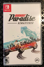 Burnout Paradise Remastered Nintendo Switch - Perfect Condition