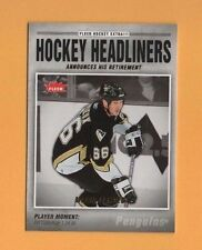 2006-07 Fleer HOCKEY HEADLINERS Insert # HL6 Mario Lemieux PITTSBURGH PENGUINS